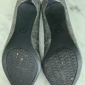 Michael Kors Shoes - Silver metallic Michael Kors Pumps